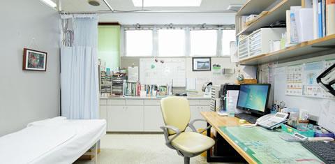 みわ記念病院診察室