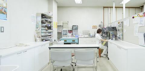 みわ記念病院処置室