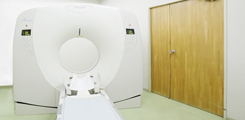 みわ記念病院CT室