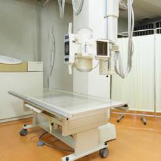みわ記念病院一般撮影室