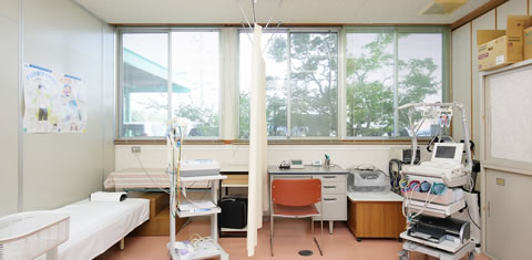 みわ記念病院検査室