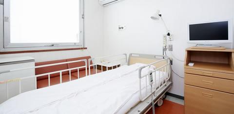 みわ記念病院病室(1人部屋)
