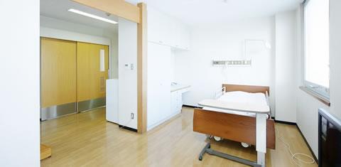 みわ記念病院病室(特別室)