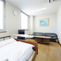 みわ記念病院病室(特別室/応接スペース)