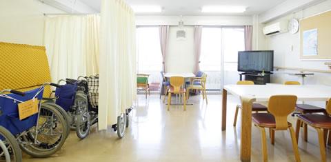 みわ記念病院患者食堂・談話室
