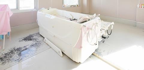 みわ記念病院特別浴室