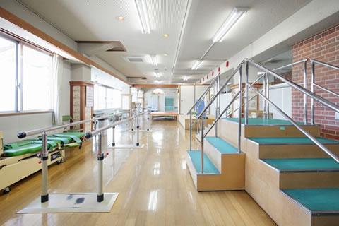 みわ記念病院理学療法室