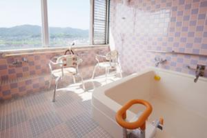 みわ記念病院展望浴室