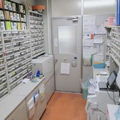 みわ記念病院調剤室