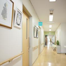 みわ記念病院廊下
