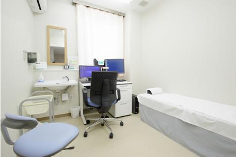みわ記念病院健診センター診察室
