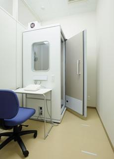 みわ記念病院健診センター聴力検査室
